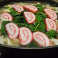 海鮮塩ちゃんこ鍋の〆はポパイうどん  by とまとママさん