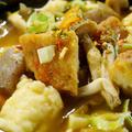 ②【秋色すいとん】紀文さんの[野菜天ぷら」で肉無しで十分すぎる美味しさです♪ by あきさん