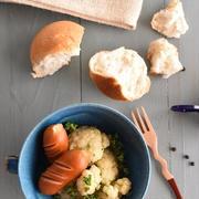 カリフラワーとウインナーのシンプル煮