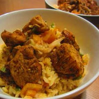 インド風炊き込みご飯「ビリヤニ」♪黒ごまパン♪ポテトサラダサンド♪