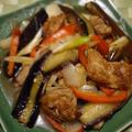 もみじおろしでさっぱり♪茄子とカラフル野菜の揚げ浸し
