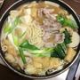 【超簡単・時短】味噌鍋うどんすき出汁ダシ
