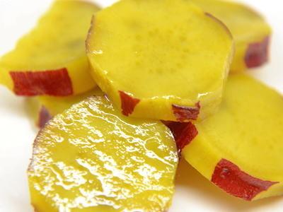 サツマイモのシロップ漬け
