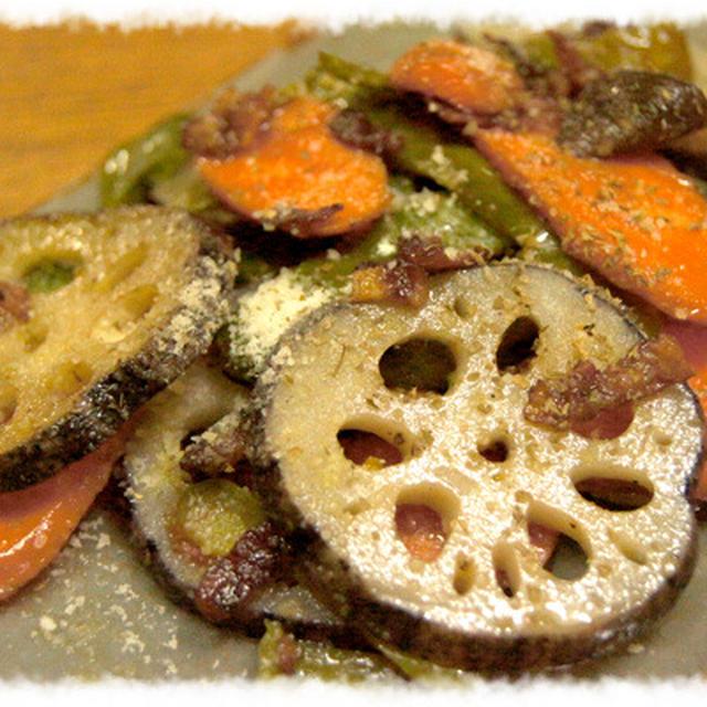 気まぐれ野菜のロースト