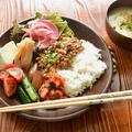 6/16 ダイエットごはん。【納豆丼。】