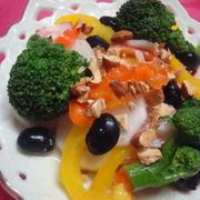 *彩り野菜と黒豆のマリネ*