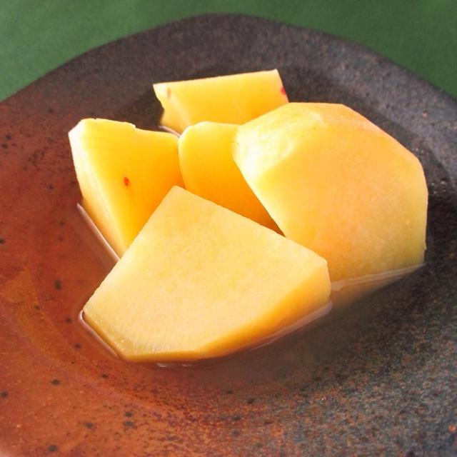 食物繊維&ビタミンCたっぷり!さつまいものレモン煮