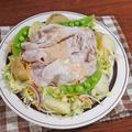 コクあってさわやか!春野菜たっぷり 豚しゃぶのせサラダ