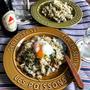【簡単!!ダッシュごはん】もやし、豚肉、ニラでスタミナ炒飯と、撮影
