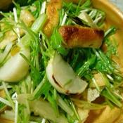 蕪と薄揚げのサラダ・柚子こしょうポン酢