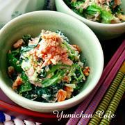 味付けのマンネリ打破!「梅マヨネーズ和え」で作る簡単副菜