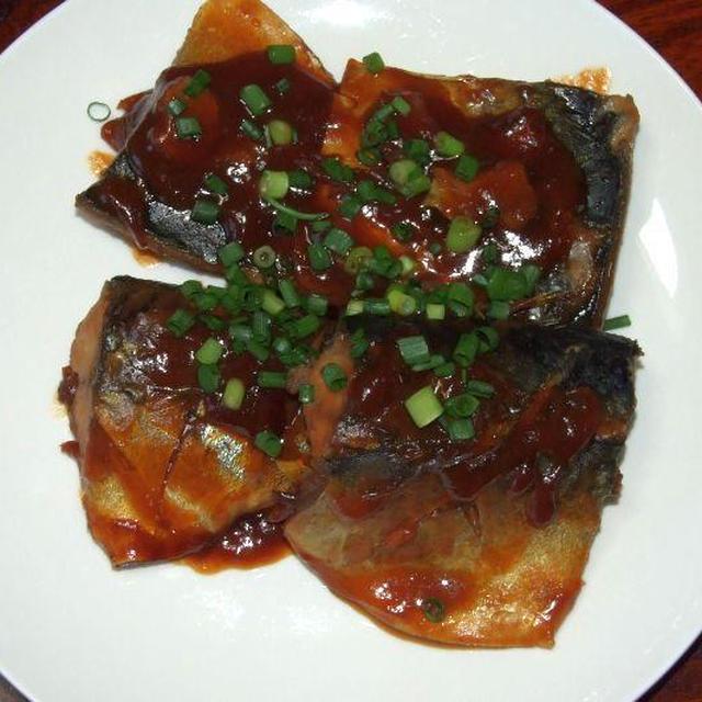 鯖の味噌煮&鶏手羽の名古屋風