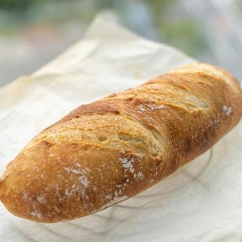 サフで焼いたソフトフランスパン