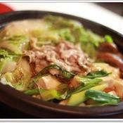 柚子こしょう風味の簡単♪豚しゃぶタジン鍋