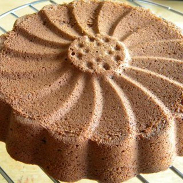 夏休みのチョコレートケーキ