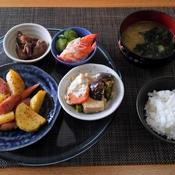 暖かくなったけど霞んでるのは・・・高野豆腐としいたけの玉子とじ煮♪・・♪
