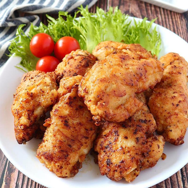 ■鶏むね肉で作る本格フライドチキン<br><br>「パーティーにもってこいのレシピですが、手軽にでき...