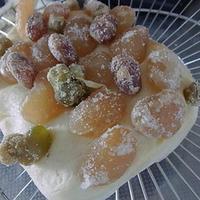 ルクエ スチームケース de 簡単甘納豆パン