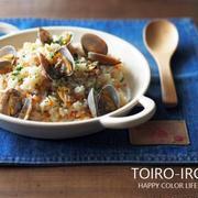 今日のレシピ『あさりの洋風炊き込みご飯』と新しいレシピ追加のお知らせ