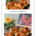 我が家の定番「胡桃パン」・・親友へのお土産は桜あんの捩じりパンも焼きましたよ♪♪