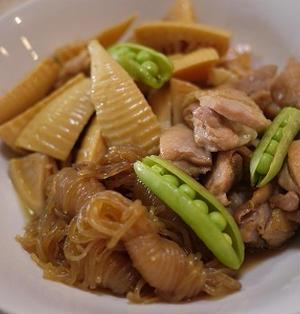 フライパン1つで鶏と筍の旨味炒め煮