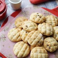 HMで簡単☆チョコチップメロンパン風ソフトクッキー【レシピ】