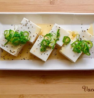 【簡単】【時短】まるでチーズ!?な塩漬け豆腐