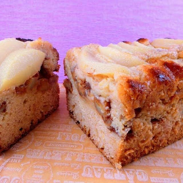 オーブントースターで焼く!桃のパウンドケーキの作り方