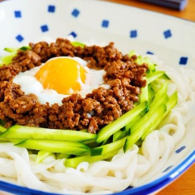 肉味噌こんにゃくうどん♪簡単ヘルシー麺レシピ