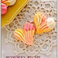 サラダオイル使用で簡単お菓子♡サクサク苺チョコ絞り出しクッキー♡バレンタインやホワイトデーに&色々な掲載お礼