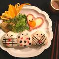 バレンタインに♡魚肉ソーセージでハートの目玉焼き