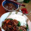 鶏肉と野菜のピリ辛タマリンドソース炒め ~ タイ料理★ by mayumiたんさん