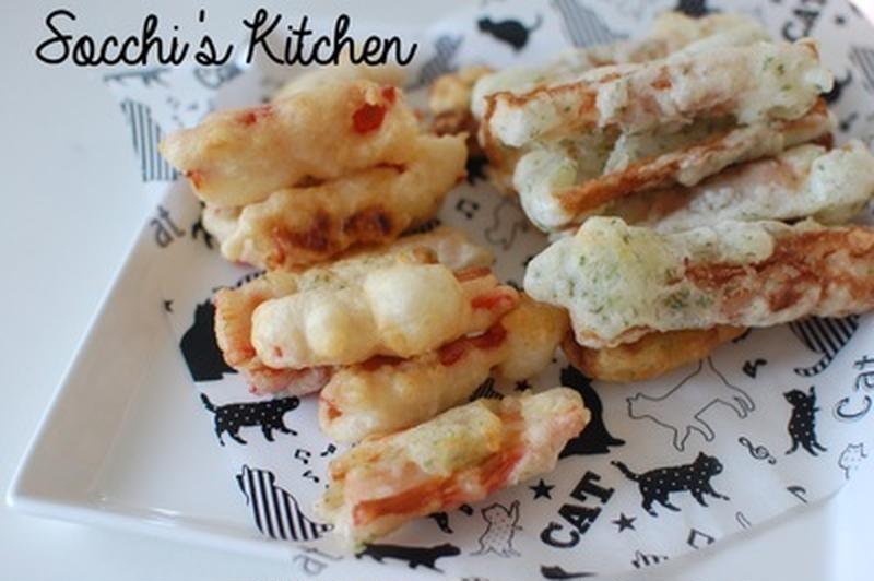 お弁当のおかずにも♪「カニカマ×天ぷら」のおすすめレシピ