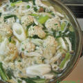 鶏もも肉とつみれで~W鶏ちゃんこ鍋♪ by ei-recipeさん
