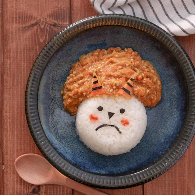 子どもの節分にも♪味噌カレーレシピ(鬼カレー)カレー粉で簡単♪