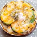 アボカドと卵のカレードリア