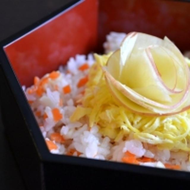 【りんごのちらし寿司 時短*簡単 】