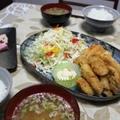 11/17牡蠣フライとはんぺんから揚げ!!