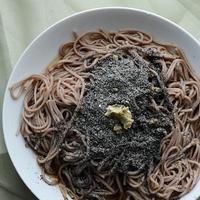 黒ゴマ蕎麦