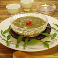 超簡単もずくの冷製スープ・料亭風♪
