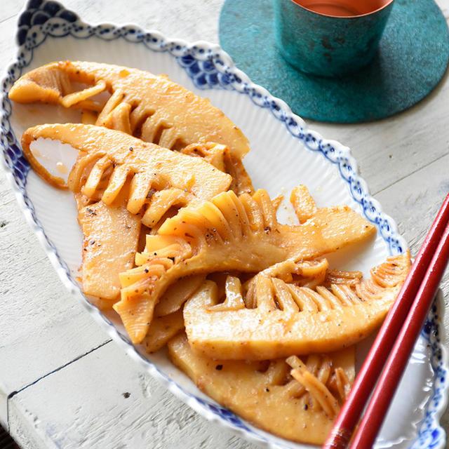 竹の子♥手作りメンマ♥やみつき【#超簡単 #だし粉 #野菜のおつまみ #たけのこ #無限】6分