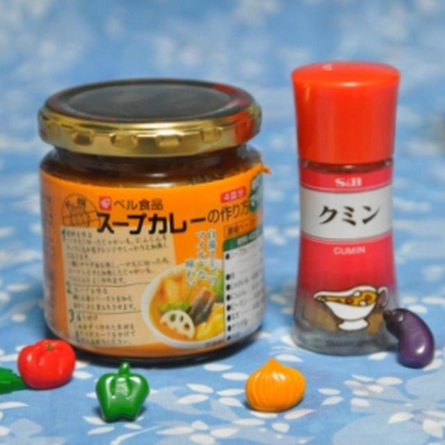 スープカレーうどん & パン耳レシピ