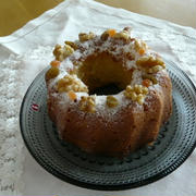 サワークリームのバターケーキ~バニラ風味