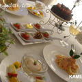 野菜だけで美味しいクリスマス♪全5品izumimirunさんレシピ☆ by かめ代さん
