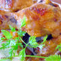 ★手羽元のオーブン焼き*白桃ナツメグ風味★
