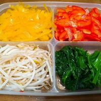 レシピ 野菜のカラフルめんつゆ浸し