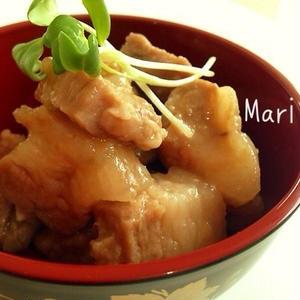 レンジでチンして簡単に!もっと手軽に作れる「豚の角煮」