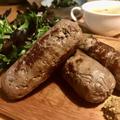 自家製ビジエ料理 鹿肉のイタリアンソーセージ サルシッチャ