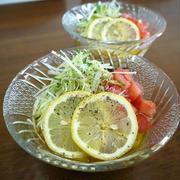 「よろこばレシピ」にレシピ投稿しました★レモンが効いてるサラダ素麺♪