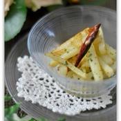 ハーブ香る長芋のペペロンチーノ風